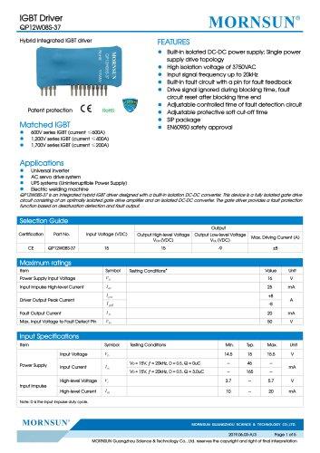IGBT Driver QP12W08S-37