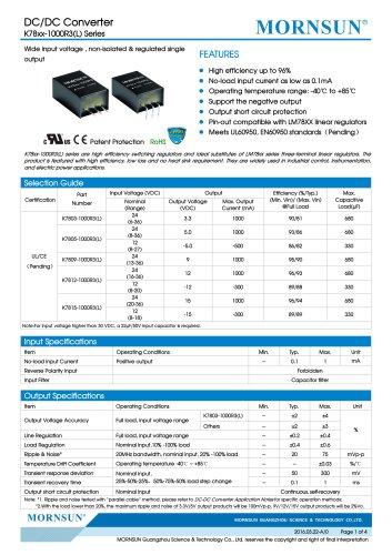 K78xx-1000R3(L) Series