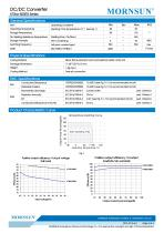 K78xx-500R3 / DC-DC converter / 500mA current output / non-isolated / modular / low cost / high efficiency - 2