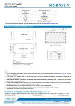 LD03-16Bxx Series 3W, AC/DC converter - 4
