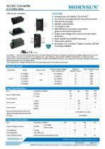 LD12 / 12watt AC/DC power supply / Medical - 1