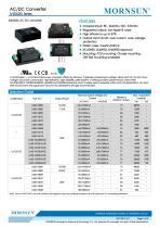 LH20-25-- Meeting IEC/EN61000-4, CISPR22/EN55022, UL60950 and EN60950 standards - 1