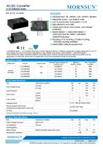 Low Consumption Medical AC/DC Converter LH15/LH25-20BxxMUseries - 1