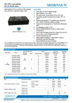 Medical Wide Input DCDC Converter URH_LP-20WR3 - 1
