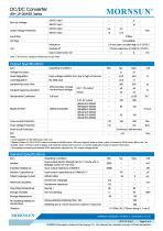 Medical Wide Input DCDC Converter URH_LP-20WR3 - 2