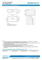 Medical Wide Input DCDC Converter URH_LP-20WR3 - 6