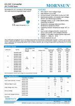Medical Wide Input DCDC Converter URH_P-6WR3 - 1