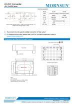 Medical Wide Input DCDC Converter URH_P-6WR3 - 4
