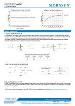 MORNSUN 0.25Watt/Fixed input voltage/isolated & unregulated single output DC DC power suplly/converter F_XT-W2R2 - 3