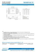 MORNSUN 10W 85-264VAC input dual outputs AC/DC Converter LHE10-20Axx - 6