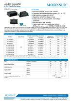 MORNSUN 10W 85-264VAC input triple outputs AC/DC Converter LHE10-20Cxxxx - 1
