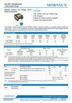 MORNSUN 10W AC-DC Automotive Isolated Transformer TTLHE10-20B-D - 1