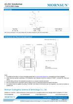 MORNSUN 10W AC-DC Automotive Isolated Transformer TTLHE10-20B-D - 2