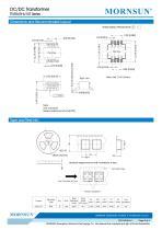 MORNSUN 10W DC-DC Isolated SMD Converter Transformer TTURB-10T - 3