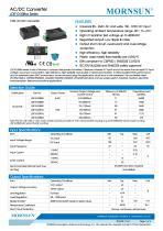 MORNSUN 10W Ultra small size AC/DC converter LDE10-20Bxx - 1