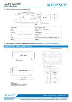 MORNSUN 10W Ultra small size AC/DC converter LDE10-20Bxx - 4