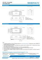 MORNSUN 10W Ultra small size AC/DC converter LDE10-20Bxx - 5