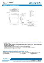 MORNSUN 120watt AC DC power supply / converter / PFC / DIN35 / LI120-10Bxx - 4