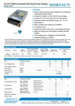 MORNSUN 150W AC/DC Enclosed SMPS LM150-12A15 - 1