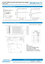 MORNSUN 150W AC/DC Enclosed SMPS LM150-12A15 - 3