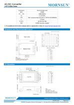MORNSUN 15W 85-264VAC input AC/DC Converter LHE15-20Bxx - 4