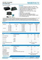MORNSUN 15W 85-264VAC input AC/DC Converter LHE15-20BxxA2