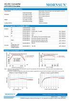 MORNSUN 15W 85-264VAC input dual outputs AC/DC Converter LHE15-20Axx - 3