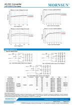 MORNSUN 15W 85-264VAC input triple outputs AC/DC Converter LHE15-20Cxxxx - 4