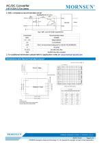 MORNSUN 15W 85-264VAC input triple outputs AC/DC Converter LHE15-20Cxxxx - 5
