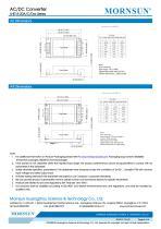 MORNSUN 15W 85-264VAC input triple outputs AC/DC Converter LHE15-20Cxxxx - 6