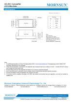 MORNSUN 15W Ultra small size AC/DC converter LDE15-20B03 - 6