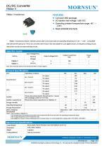 MORNSUN 1W DC-DC Isolated SMD Converter Transformer TTB05xx-1T - 1