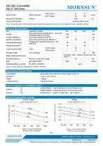 MORNSUN 1W isolated DC-DC converter  B_XT-1WR3/Fixed input voltage/single output - 2