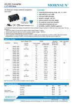 MORNSUN 1Watt/Fixed input voltage/isolated & dual outputs DC DC power suplly/converter A_XT-1WR2 - 1