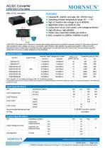MORNSUN 20W 85-264VAC input dual outputs AC/DC Converter LHE20-20Axx - 1