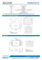 MORNSUN 20W 85-264VAC input dual outputs AC/DC Converter LHE20-20Axx - 5