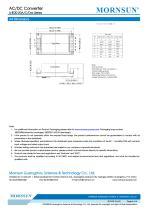 MORNSUN 20W 85-264VAC input dual outputs AC/DC Converter LHE20-20Axx - 6