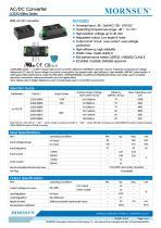 MORNSUN 20W Ultra small size AC/DC converter LDE20-20Bxx - 1