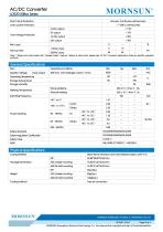 MORNSUN 20W Ultra small size AC/DC converter LDE20-20Bxx - 2