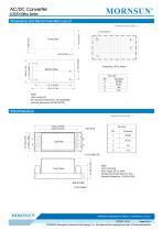MORNSUN 20W Ultra small size AC/DC converter LDE20-20Bxx - 5