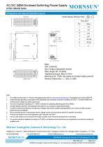MORNSUN 240W  AC/DC DIN Rail Power Supply LIF240-10BxxR2 - 4