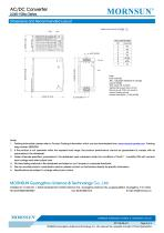 MORNSUN 240watt AC DC power supply / converter / PFC / DIN35 / LI240-10Bxx - 4