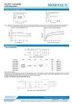 MORNSUN 2W compact 85-305VAC wide input AC/DC converter LDE02-23BXX - 3