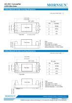 MORNSUN 2W compact 85-305VAC wide input AC/DC converter LDE02-23BXX - 5