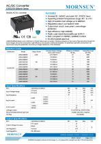 MORNSUN 3-5W AC/DC converter with wire lead LDE03-20BxxW