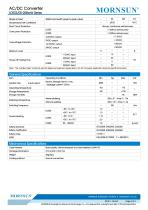 MORNSUN 3-5W AC/DC converter with wire lead LDE03-20BxxW - 2