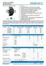 MORNSUN 30watt 85-264VAC input AC DC power supply / converter / DIN-Rail / LI30-20BxxPR2 - 1