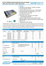 MORNSUN 350W AC/DC Enclosed Switching Power Supply LM350-10Bxx - 1