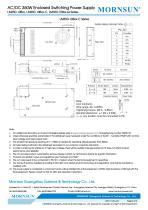 MORNSUN 350W AC/DC Enclosed Switching Power Supply LM350-10Bxx - 5