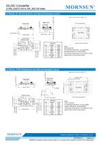 MORNSUN 3W Ultra-thin Isolated Output DC/DC Converters URB_J(M)T/D-3W - 6